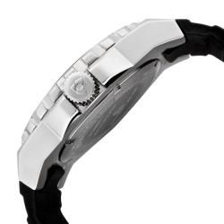 Swiss Legend Mens Expedition Black Silicon Watch