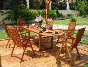 Outdoor Wood Furniture Care Tips
