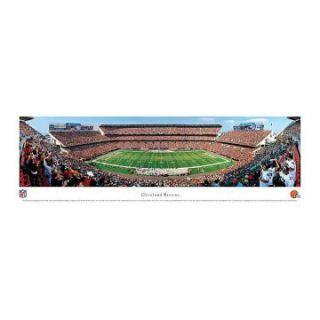 Blakeway Panoramas Cleveland Browns Unframed NFL Wall Art