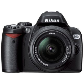 Nikon D40x 10.2MP Digital SLR Camera with Zoom Lens