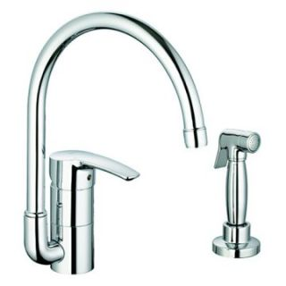 Grohe ostyle 33 980 High Profile Kitchen/Bar Faucet with Side Spray
