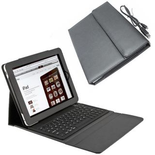 SKQUE iPad Deluxe Case/ Wireless Bluetooth Keyboard