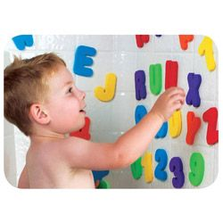 Munchkin Bath Letters and Numbers Toy Set