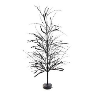 Interiors 36 in. Black Halloween Tree