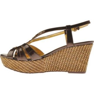 Womens Anne Klein Kathmandu Dark Bronze Synthetic