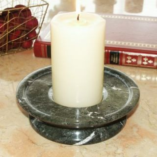 Green Zebra 3 Tier Candle Holder   Candle Holders