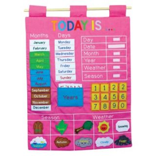Almas Designs Today is Pink Wall Hanger   Educational Toys at