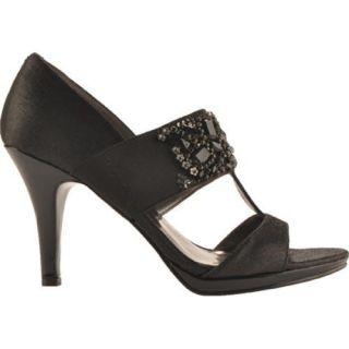 Womens Anne Klein Sensy Black/Black Fabric