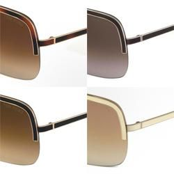 Tom Ford TF0138 Gianna Womens Shield Sunglasses