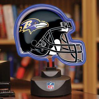 Baltimore Ravens Neon Helmet Lamp