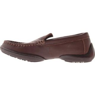 Boys Kenneth Cole Reaction Driving Dime Dark Brown Leather