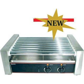 Admiral Craft Large 24 Hot Dog Roller Grill