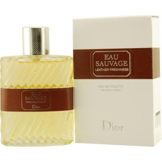 Christian Dior Eau Sauvage Leather Freshness Mens 3.4 oz EDT Spray