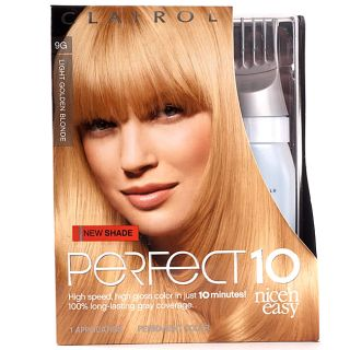 Clairol Nicen Easy Perfect 10 #9G Light Golden Blonde (Pack of 4