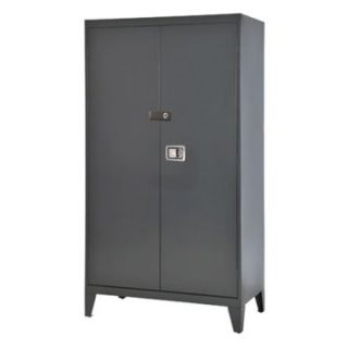 Edsal 46 in. Extra Heavy Duty Steel Storage Cabinet   Cabinets at