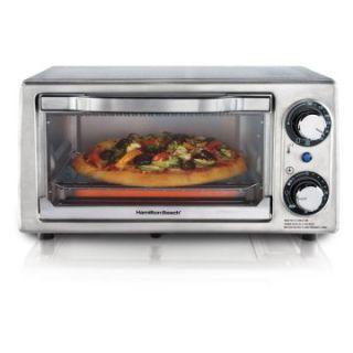 Hamilton Beach 31138 Stainless Steel 4 Slice Toaster Oven   Toaster