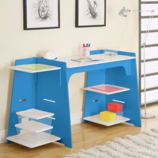Legare Adjustable Length Craft Desk   40 68 in.   Blue   Activity