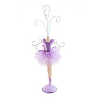 Ballet Series Mannequin   Purple   5W x 14H in.   Womens Jewelry Boxes
