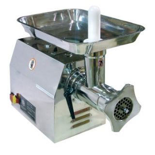 Omcan BR002 Commercial Electric Meat Grinder   Meat Grinders at
