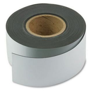 Magna Visual 3 in. x 50 ft. Roll Magnetic Write On/Wipe Off Strips