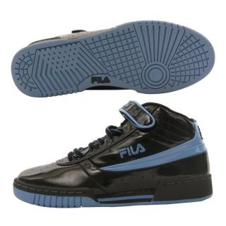 Fila F 89 Black and Blue Athletic inspired Mens Shoes