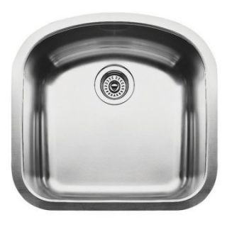 Blanco Wave MicroEdge Single Bowl Kitchen Sink   Kitchen Sinks at