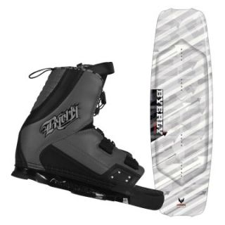 Byerly Monarch Series Wakeboard with Verdict Boots   Wakeboards at