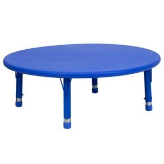 Flash Furniture 45 in. Round Adjustable Height Activity Table