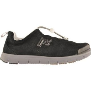 Womens Propet Travel Walker Suede Black