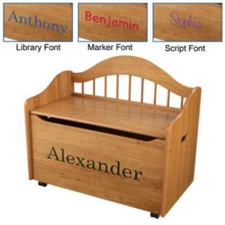 KidKraft Personalized Limited Edition Toy Box   Kids Furniture at