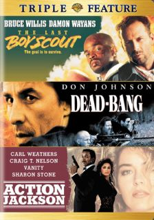The Last Boy Scout/Dead Bang/Action Jackson (DVD)