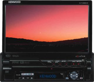 Kenwood KVT 819 Car DVD Player