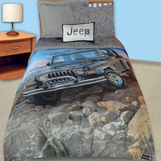 Jeep Off Road Twin size Comforter Set