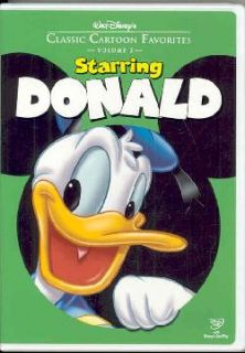 Walt Disneys Classic Cartoon Favorites Vol. 2: Starring Donald (DVD