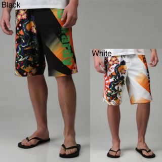 Ed Hardy Mens Kamikazi Board Shorts