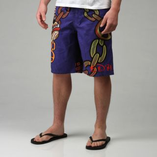 Ed Hardy Mens Gangsta Bully Board Shorts