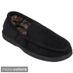 Daxx Mens Lined Corduroy Moccasin Slipper Shoes Today: $17.99 4.4 (7