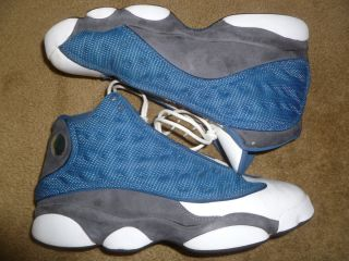 Nike Air Jordan Retro 13 XIII Flint 2010 French Blue Sz Size 12