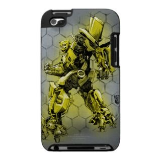 Bumblebee Honeycomb Bkgd Case For The iPod Touch