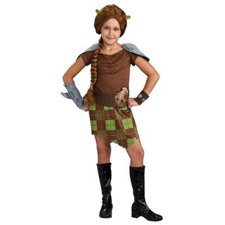 Shrek Princess Fiona Warrior Costume