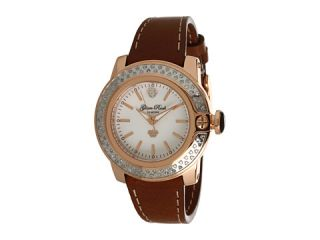 Glam Rock Lady SoBe 40mm Diamond Rose Gold Plated Watch GR31007D