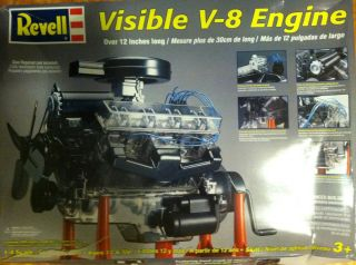 REVELL Model Kit Visible V8 Engine 1 4 Scale