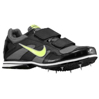 Nike Zoom TJ 3   Mens   Track & Field   Shoes   Black/Dark Grey/Volt
