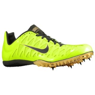 Nike Zoom Maxcat 4   Mens   Track & Field   Shoes   Volt/Metallic