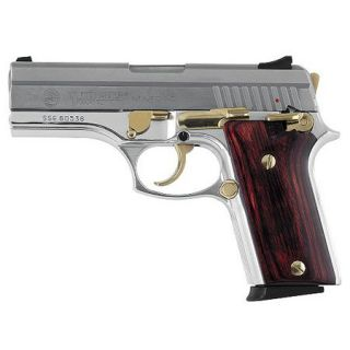 Taurus Stainless 10 +1 40S Barrel/Fixed Sights/Rosewood Grip/Gold