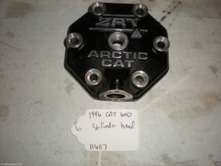 1996 Arctic Cat ZRT 600 Cylinder Head 11607