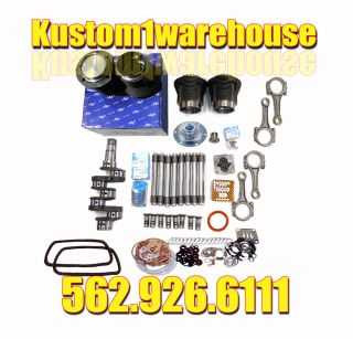VW 1776cc Volkswagen Engine Rebuild Kit 90 5X69 Bug Bus Beetle Big