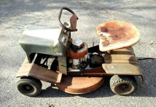 Mastercut, rare vintage riding mower, Briggs and Stratton 4hp engine