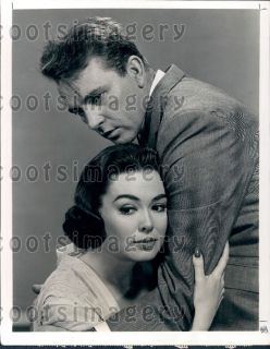 1966 Actors Richard Burton Barbara Rush in Movie The Bramble Bush Wire