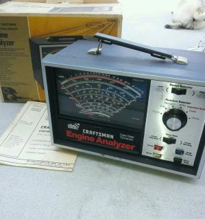 Vintage Craftsman Engine Analyzer  Model 161 210400